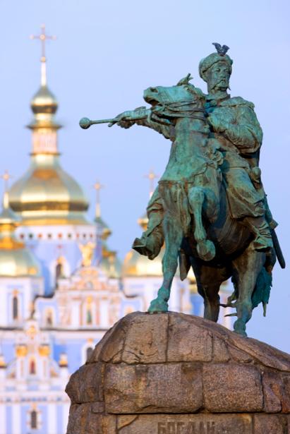 Фотообои Памятник Богдану Хмельницкому (city-0000302)