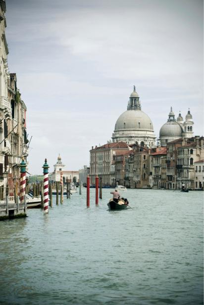 Фотообои канал в Венеции, Венеция, Италия (city-0000343)