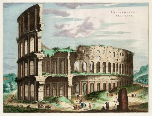 Фотообои Римский форум Италия (city-0000522)