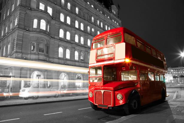 Фотообои Англия, Европа, автобус (city-0000586)