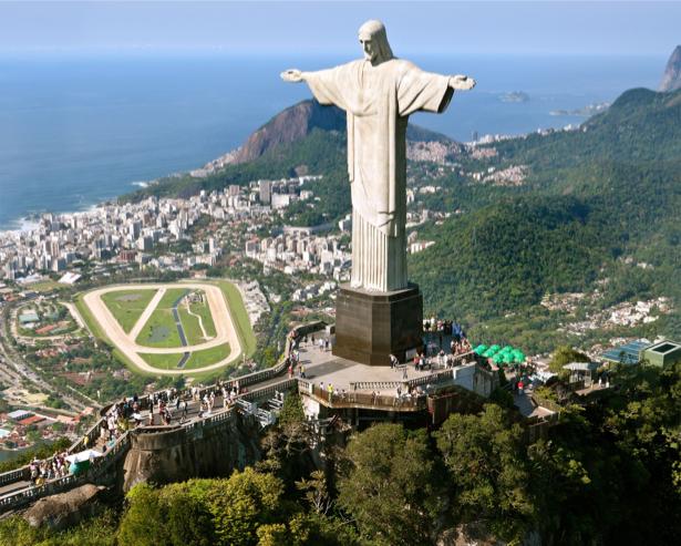 Фотообои статуя Христа Ри́о-де-Жане́йро (city-0000649)