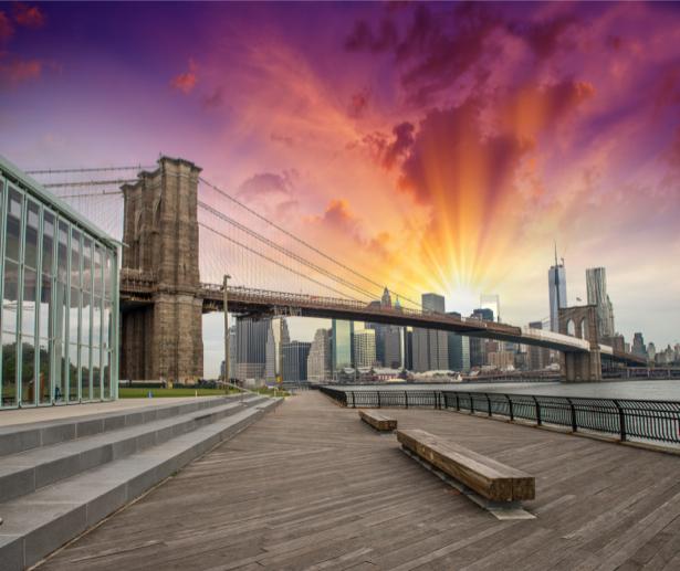 Фотообои бруклинский мост (city-0001064)