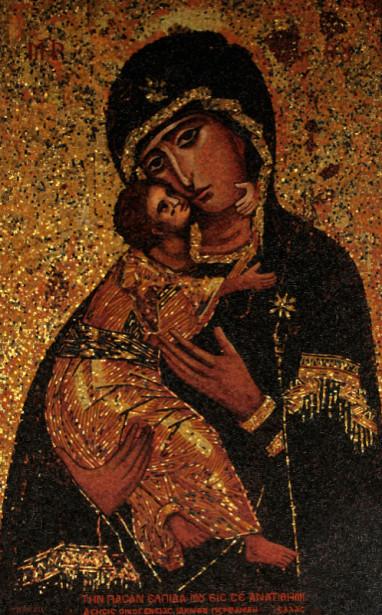 Икона Богоматерь с младенцем (icon-00108)