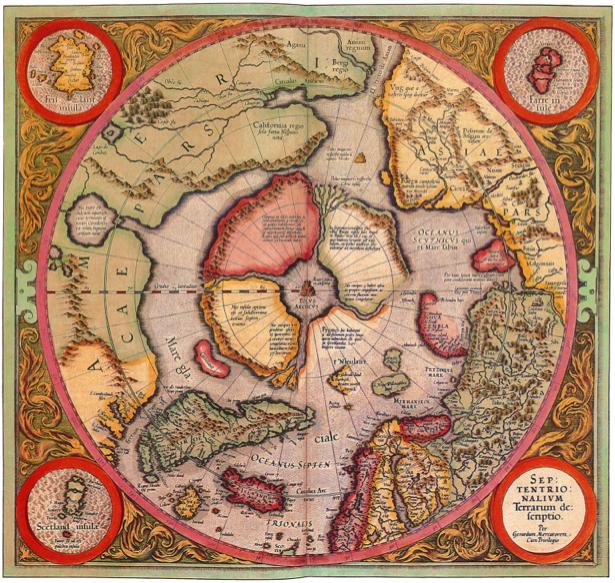 география, карты, старая карта (map-0000030)