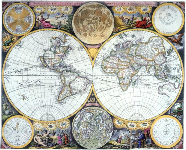 география, карты, старая карта (map-0000033)