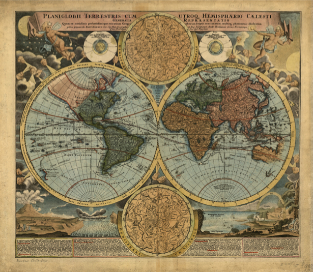 география, карты, старая карта (map-0000044)