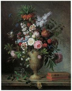 натюрморт с цветами (pf-109)
