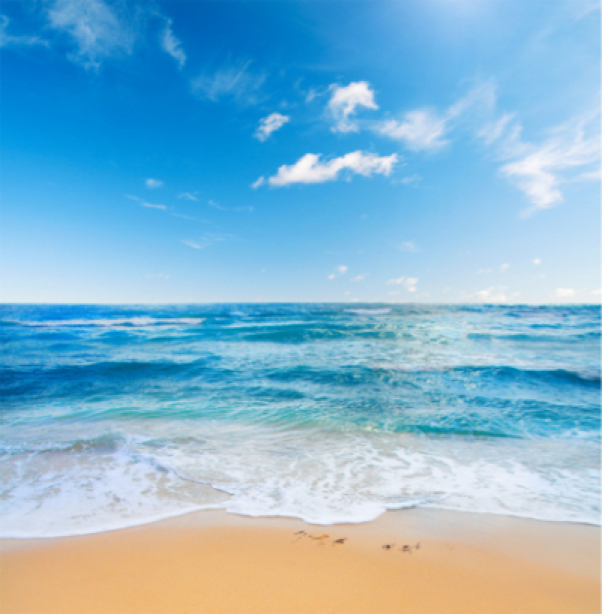 Фотообои вид на море песчаный пляж (sea-0000125)