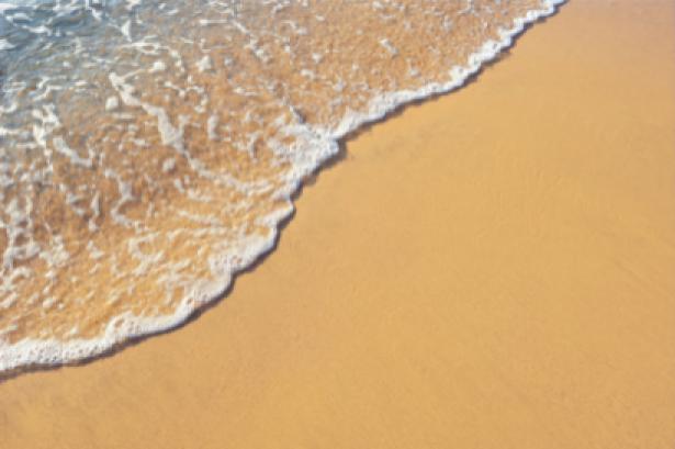 Фотообои морская волна и песок (sea-0000154)