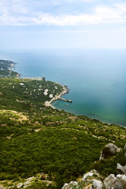 Фотообои море берег Ялта (sea-0000222)