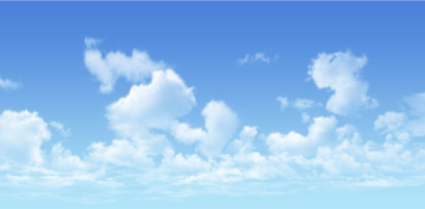 Фотообои небо днём с облаками (sky-0000069)
