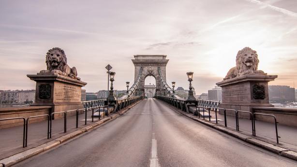 Фотообои Цепной мост в Будапеште (sp15)