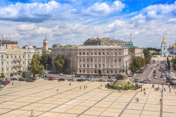 Фотообои Софиевская площадь (ukr-43)