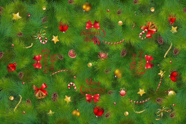 Скатерть Рождественская елка (0146)