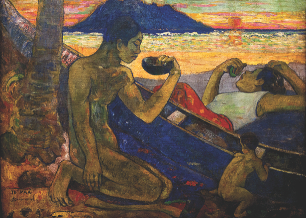 Эже́н Анри́ Поль Гоге́н, Каноэ (Таитянская семья) (art-0000069)