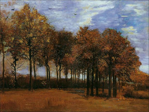 Ван Гог пейзаж (art-0000159)