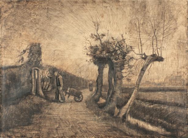 Ван Гог пейзаж (art-0000166)
