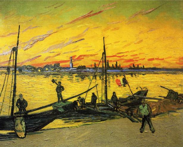Ван Гог пейзаж (art-0000170)