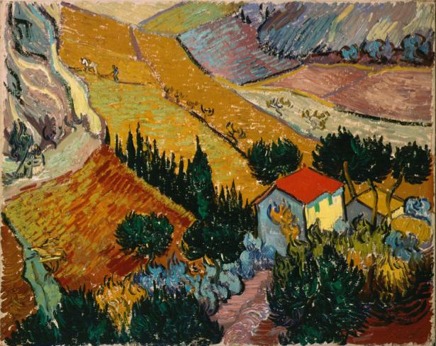 Ван Гог пейзаж (art-0000208)
