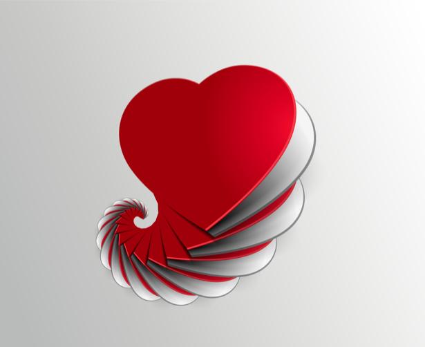 Фотообои сердца любви (background-0000350)