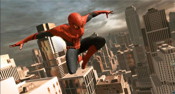 Детские фотообои Человек-паук Spider Man (children-0000008)
