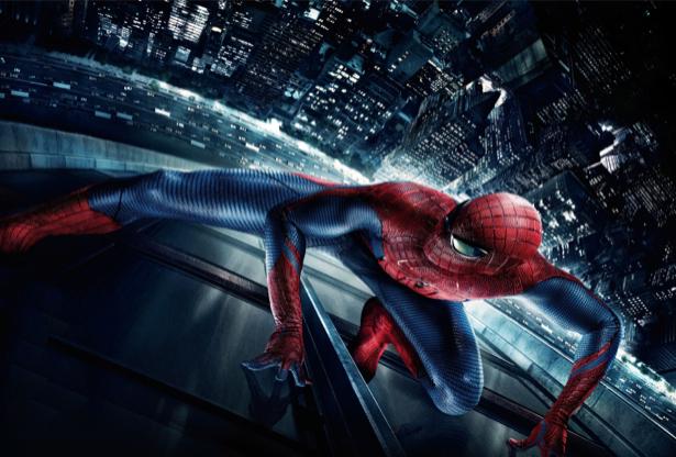 Человек-паук Spider Man детские фотообои (children-0000169)
