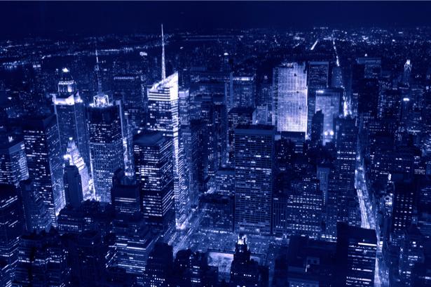 Фотообои современный, город, небоскребы, дорога, архитектура (city-0000253)