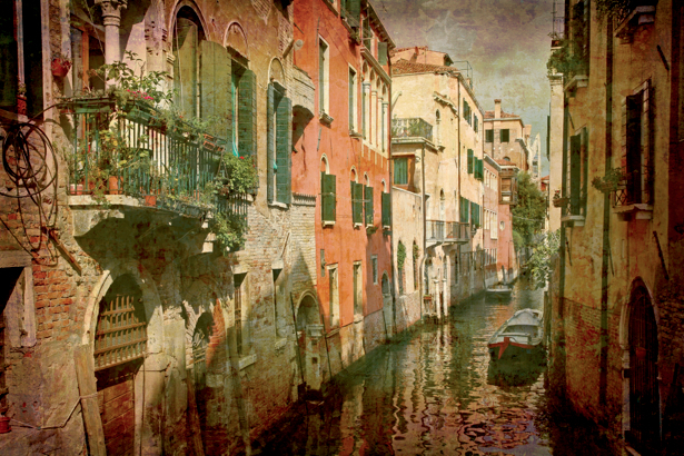Фотообои Венеция ретро (city-0000469)