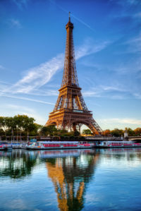 Фотообои Эйфелевая башня, Париж, Франция (city-0000664)