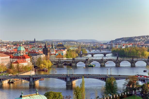Фотообои Прага мосты (city-0000726)