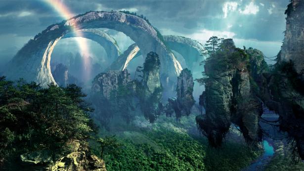 Фотообои фантастический лес (fantasy-0000057)