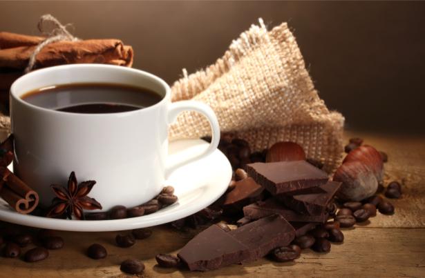 Фотообои кухня чашка кофе шоколад (food-0000139)