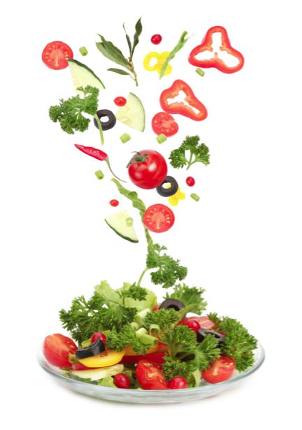 Обои кухня овощное ассорти салат (food-0000213)