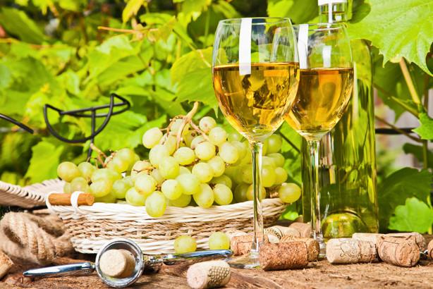 Фотообои Белое вино (food-368)