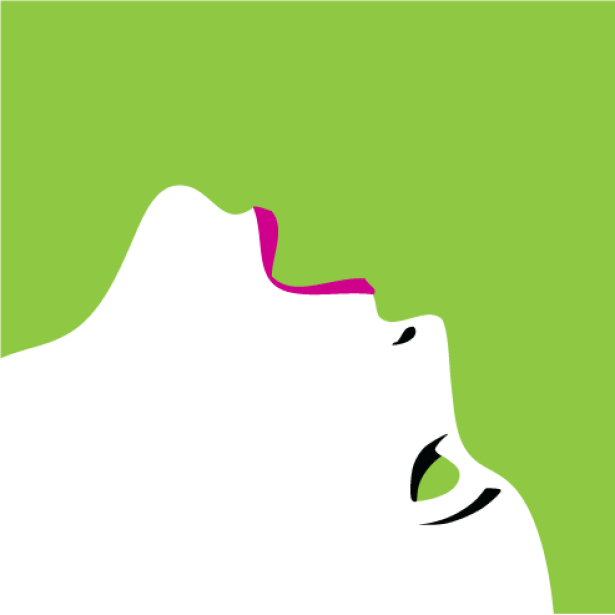 Фотообои для спальни лицо девушки (glamour-0000228)