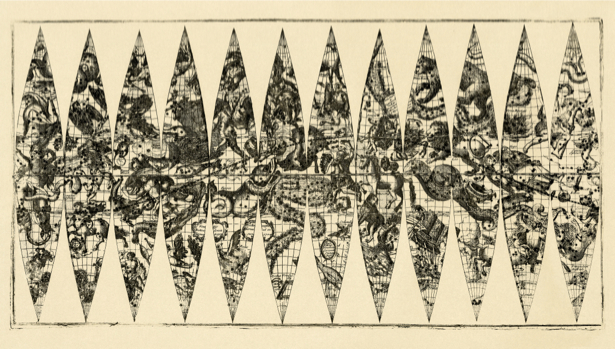атлас, география, карты, старая карта (map-0000132)