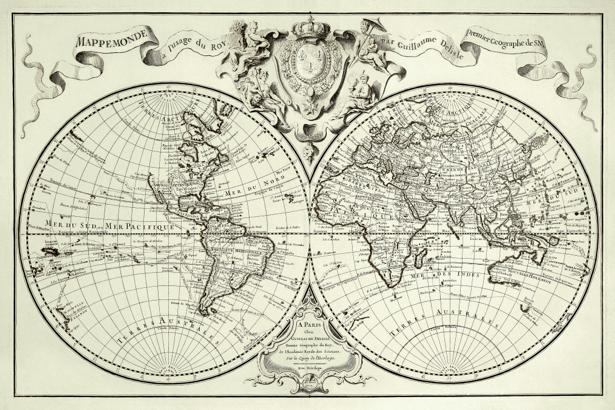 атлас, география, карты, старая карта (map-0000139)