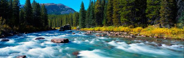 Фотообои горная река стремительный поток (nature-00164)