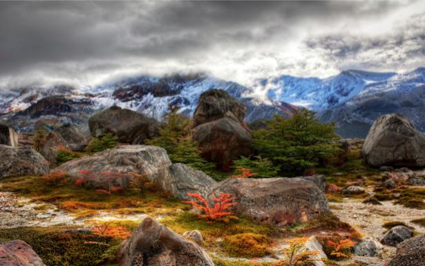 Фотообои природные пейзажи горы (nature-00168)
