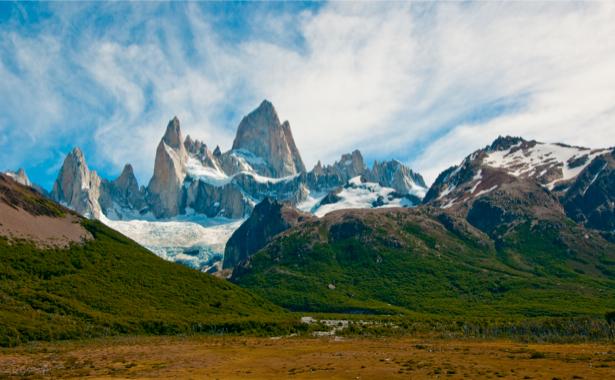 Фотообои горный пейзаж фото (nature-00186)