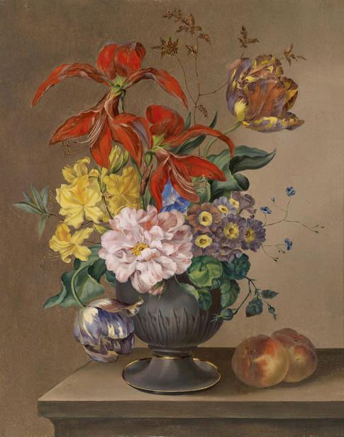 Картина композиция с цветами (pf-130)