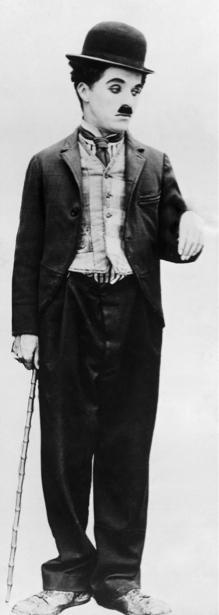 Чарли Чаплин, актер (retro-vintage-0000275)