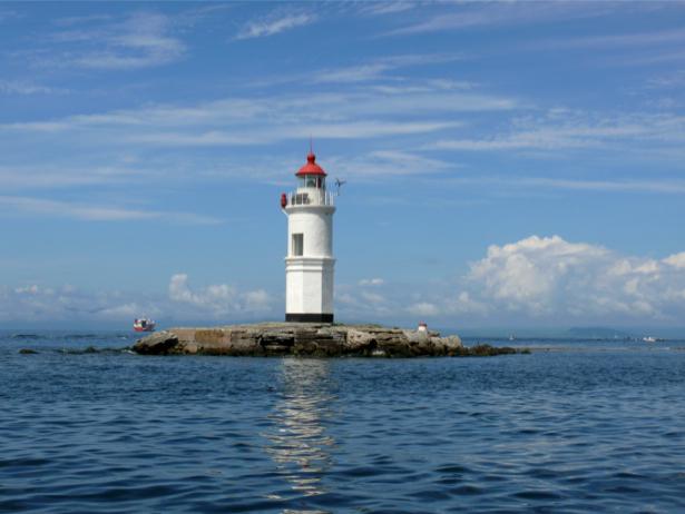 Фотообои море маяк (sea-0000238)