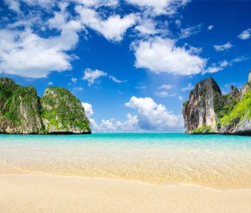 Фотообои морской пейзаж берег остров (sea-0000318)