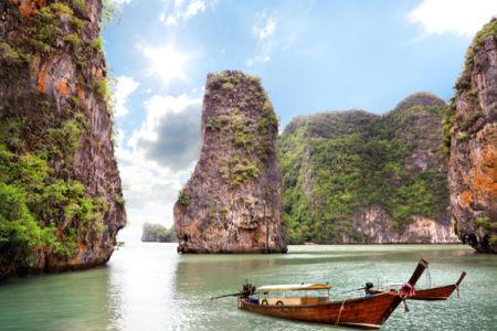 Фотообои Пхи Пхи (Таиланд) (sea-0000382)