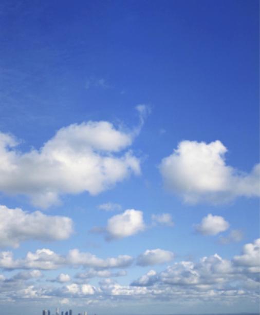 Фотообои купить синее небо облака (sky-0000038)