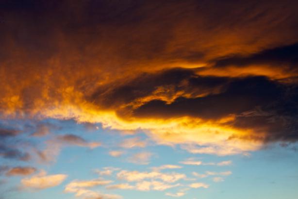 Фотообои закат небо вечернее (sky-0000083)