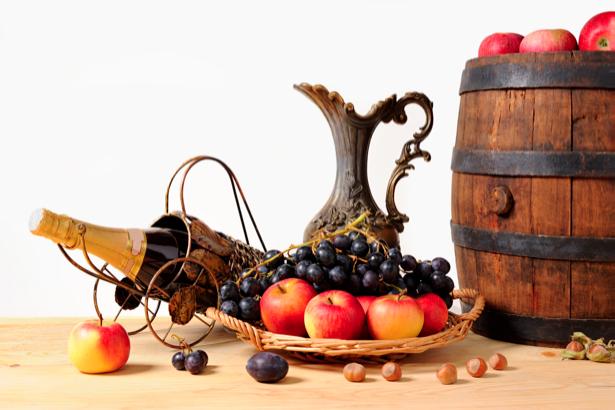 Фотообои фруктовая композиция фото (still-life-0003)