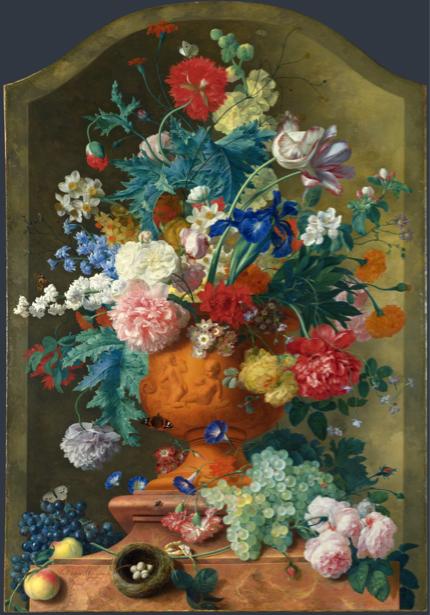 Фотообои Цветы в вазе (still-life-0059)