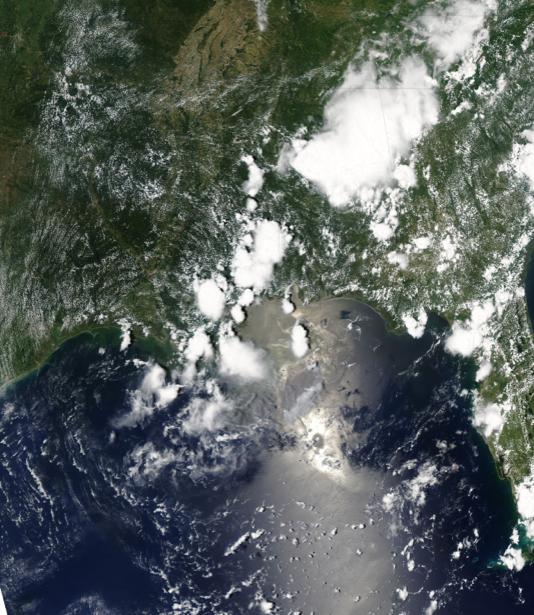 Фотообои 3д вода земля и облака (terra-00076)